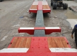 Extendablr 3 axle Lowbed semi trailers