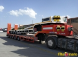 5 axle Lowbed semi trialers