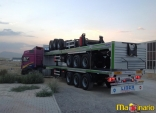 Flatbed semi trailers