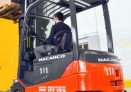 Nacanco increases with new forklifts Toyota.
