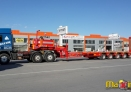 6 axle lowbed semi trailers